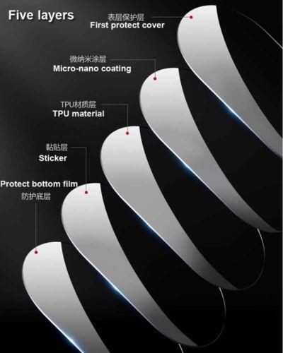 For Tesla Model 3 2016-2019 Smoky Noir TPU Headlight Sticker Protect Film Cover