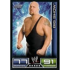 Big Show Smackdown Trading Card WWE Slam Attax