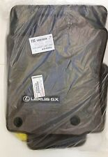 LEXUS OEM FACTORY 5PC CARPET FLOOR MAT SET 2014-2017 GX460 BROWN PT926-60140-40