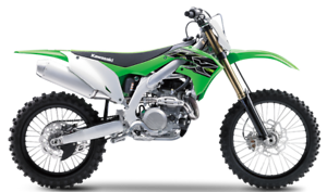 Graphic Vector Template Kawasaki KXF450 2019