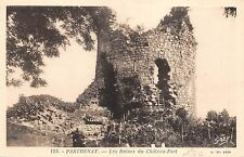 BF4187 parthenay les ruines du chateau fort france