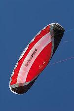 HQ Powerkite Crossfire II 4.0 R2F rot 419x122cm Dyneema Flugleine 4x20m Griffe