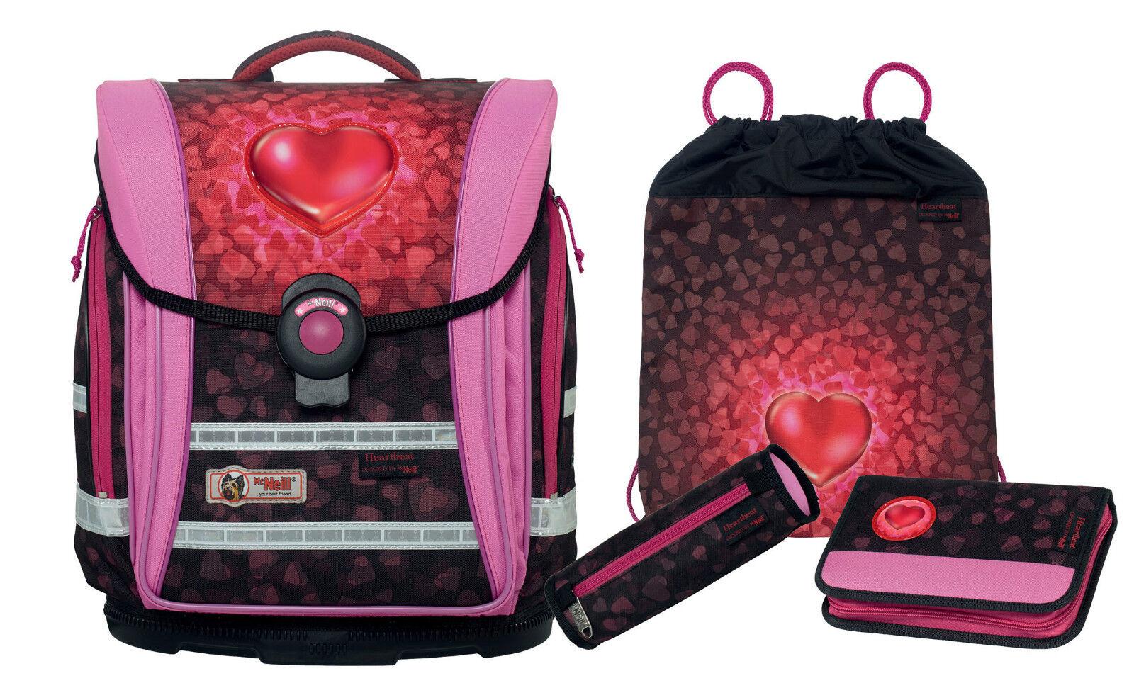 McNeill Set ERGO LIGHT COMPACT flex 4tlg HEARTBEAT Nr. 188 | Hochwertige Produkte  | Elegant  | Großer Verkauf