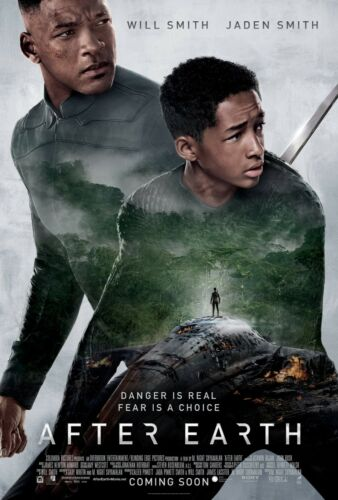 After Earth 2013 Movie Poster Print A0-A1-A2-A3-A4-A5-A6-MAXI 887