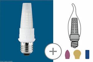 Paulmann-281-20-LED-Basis-Sockelset-2-2W-E27-Warmweiss-230V
