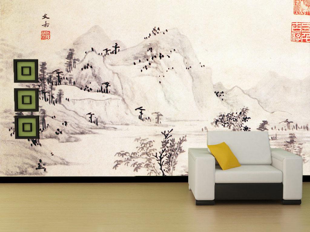 3D Landschaftsmalerei Landschaftsmalerei Landschaftsmalerei 9 Tapete Wandgemälde Tapete Tapeten Bild Familie DE Summer    Speichern    Großer Verkauf    Louis, ausführlich  a78397