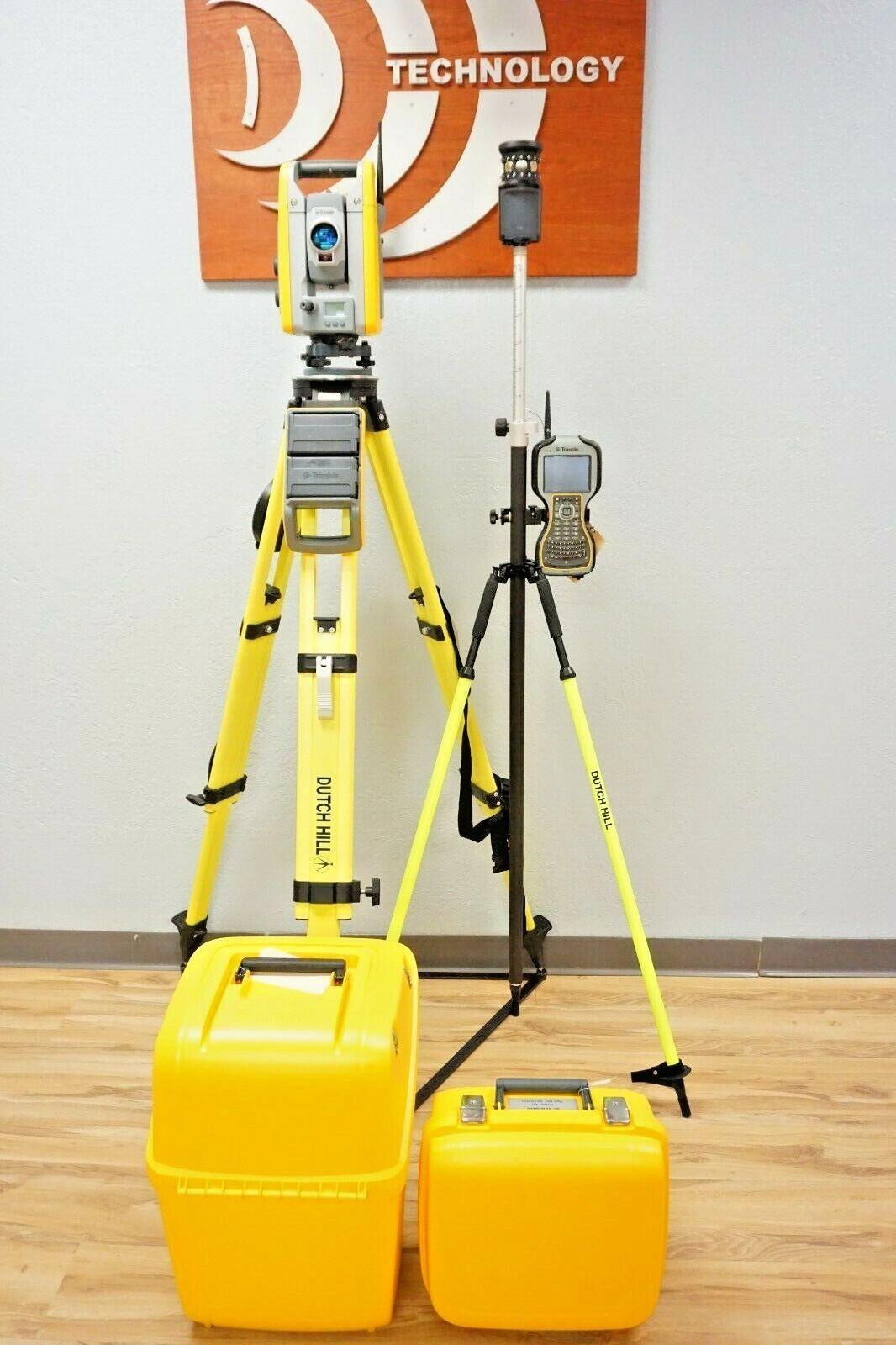 """Trimble S6 Robotic Total Station 1"""" Sec DR HP TSC3 Access MT1000"""