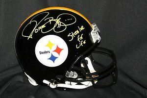 9a938a36d71 Image is loading JEROME-BETTIS-Signed-Pittsburgh-Steelers-for-Life-AUTHENTIC -