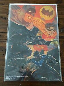 DC DETECTIVE COMICS #1027 Frank Quitely Variant Cover 9.4