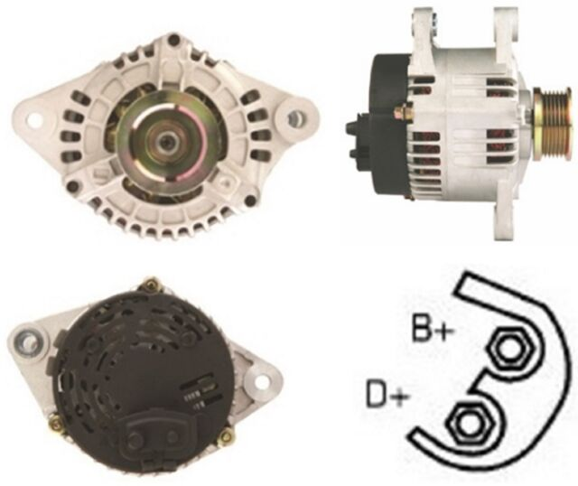 Alfa Romeo 147 937 2.0 1.6 16V T.Spark ALTERNATOR 2001-2010