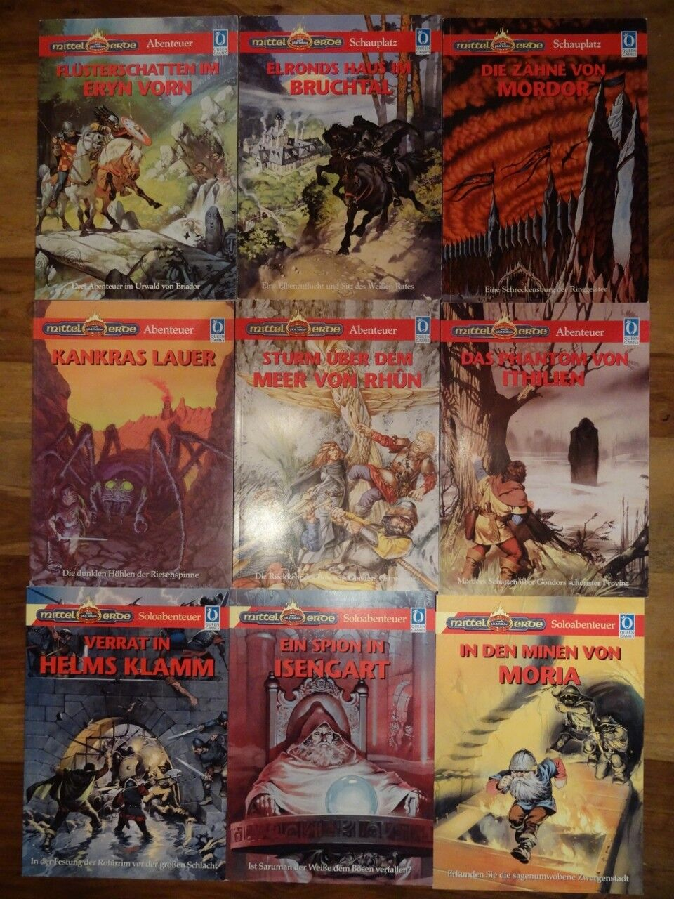 Diverse MERS Abenteuer Bände zur Auswahl (MERS, MERP, Rolemaster, Queen Games)