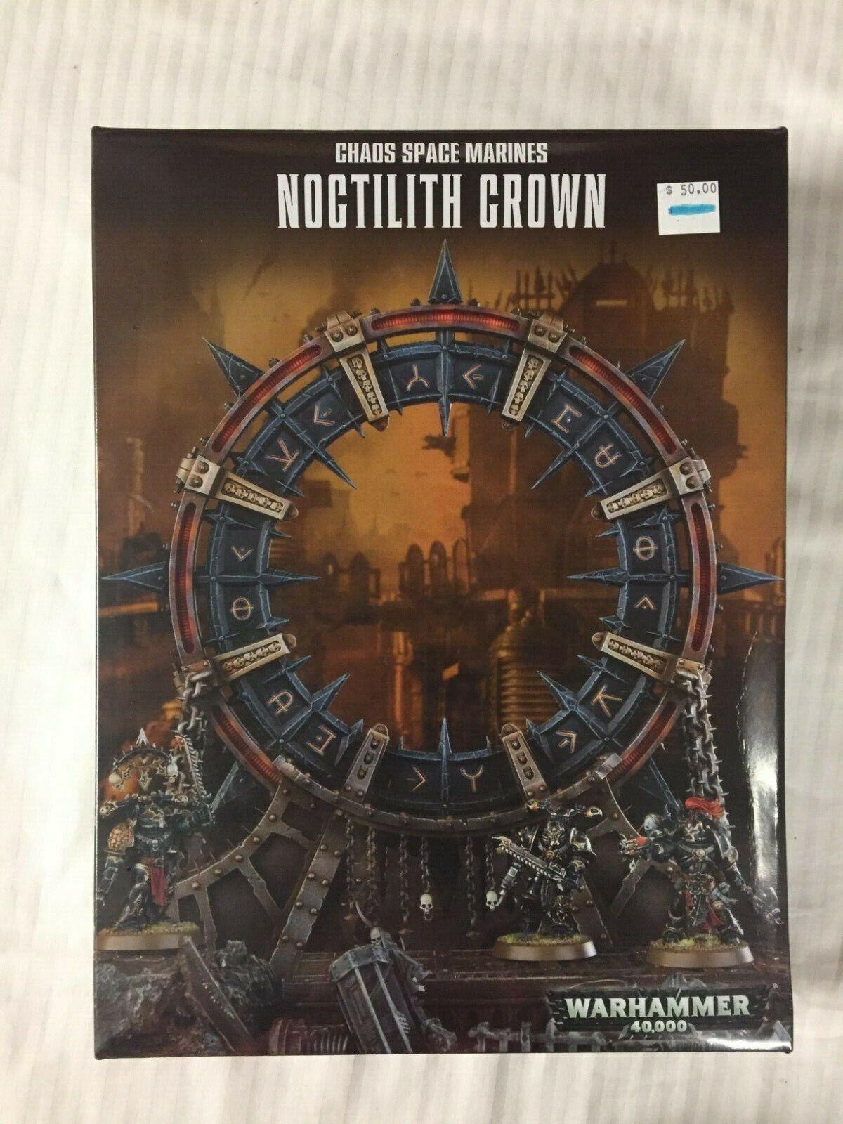 Warhammer 40k Chaos spazio Marines  Noctilith Crown nuovo  qualità di prima classe