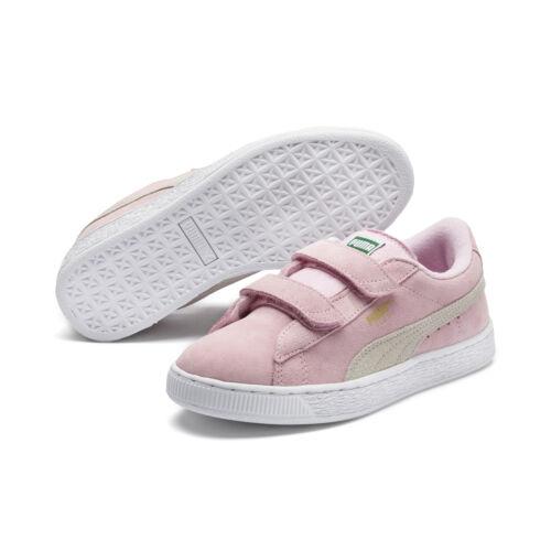 2 os Nuevo Unisex Preescolares Zapatillas Correas Suede Con Ni Zapatos Puma wzIBgaqvZW