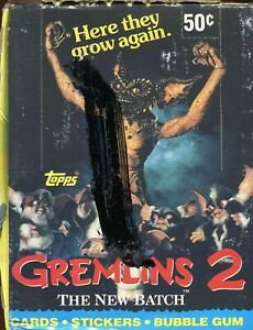 Gremlins-2-The-New-Batch-Movie-Closeout-Card-Box-36-Packs-Topps