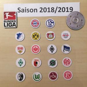 Details About Bundesliga Logo Magnete Saison 2018 19 Alle Fussball Vereine Meisterschale Bl
