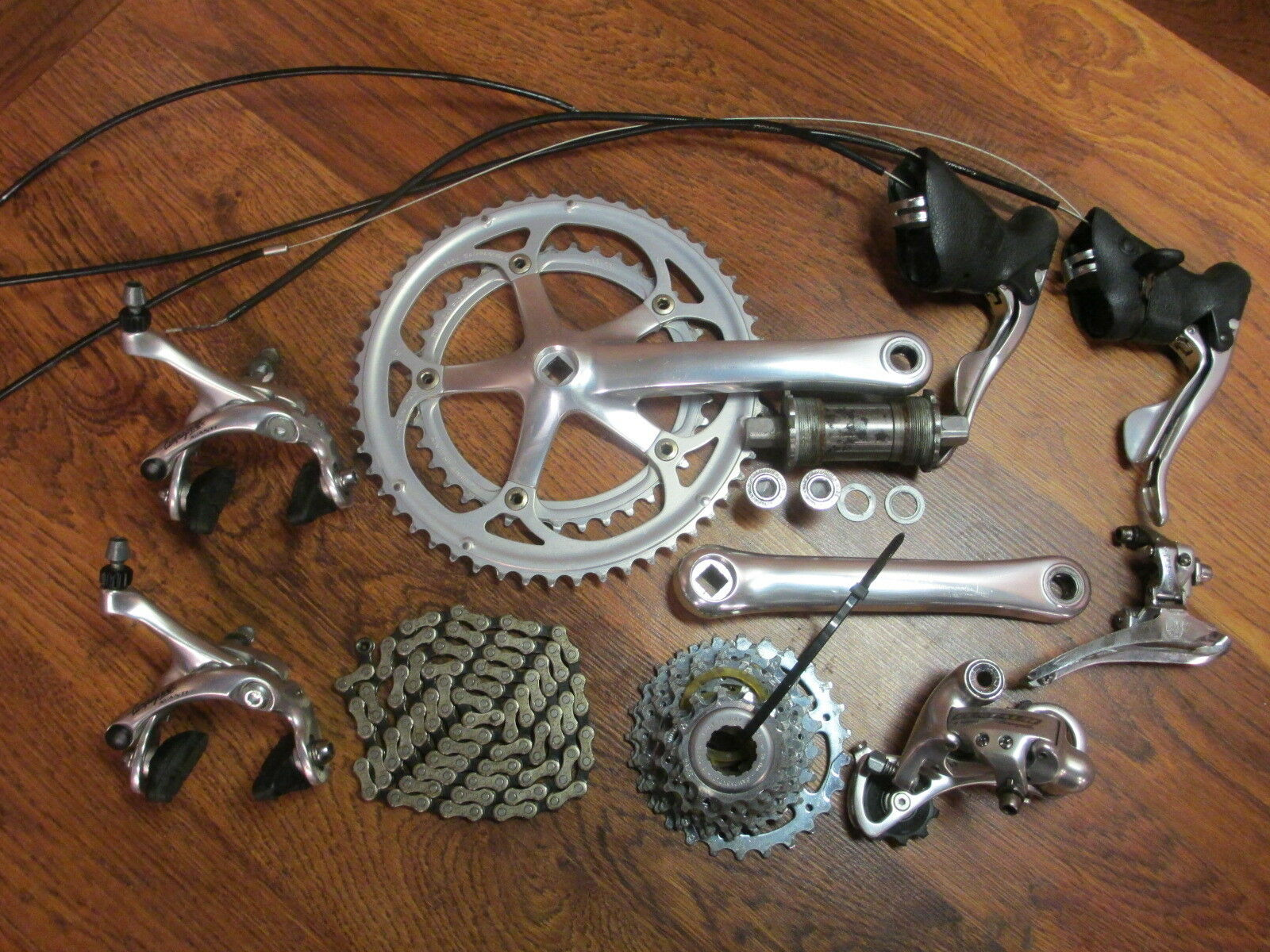 CAMPAGNOLO MIRAGE CENTAUR AVANTI 172.5 53 39  9 SPEED GROUP BUILD KIT GRUPPO