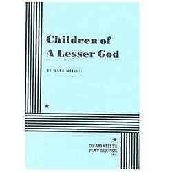 Children Of A Lesser God By Mark Medoff 1980 Paperback