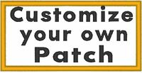 Custom Embroidered 4x 2 Name Tag 3 Lines Patch With Velcro® Brand Fastener 13