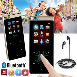 16GB Bluetooth MP3 Player 1,8'' LCD HIFI Musik spieler FM Radio Touch Recorder