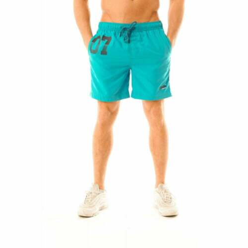 Superdry Mens Waterpolo Swim Shorts Blue
