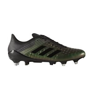 Détails sur ADIDAS PREDATOR MALICE contrôle SG Chaussures de rugby Core Noir