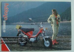 YAMAHA-CHAPPY-72cc-MOPED-Motorcycle-Sales-Brochure-c1981-LIT-3MC-0107563-81E