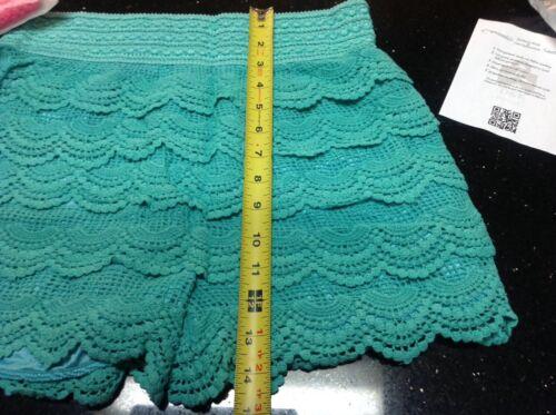 neon k Layered onde Crochet Blue Rosa juniors D Monarchy 2xl Shorts Mint Royal YdwqAAH