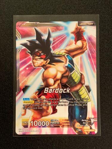 Dragonball Super Unwavering Justice Bardock BT3-082 R Yellow Bardock