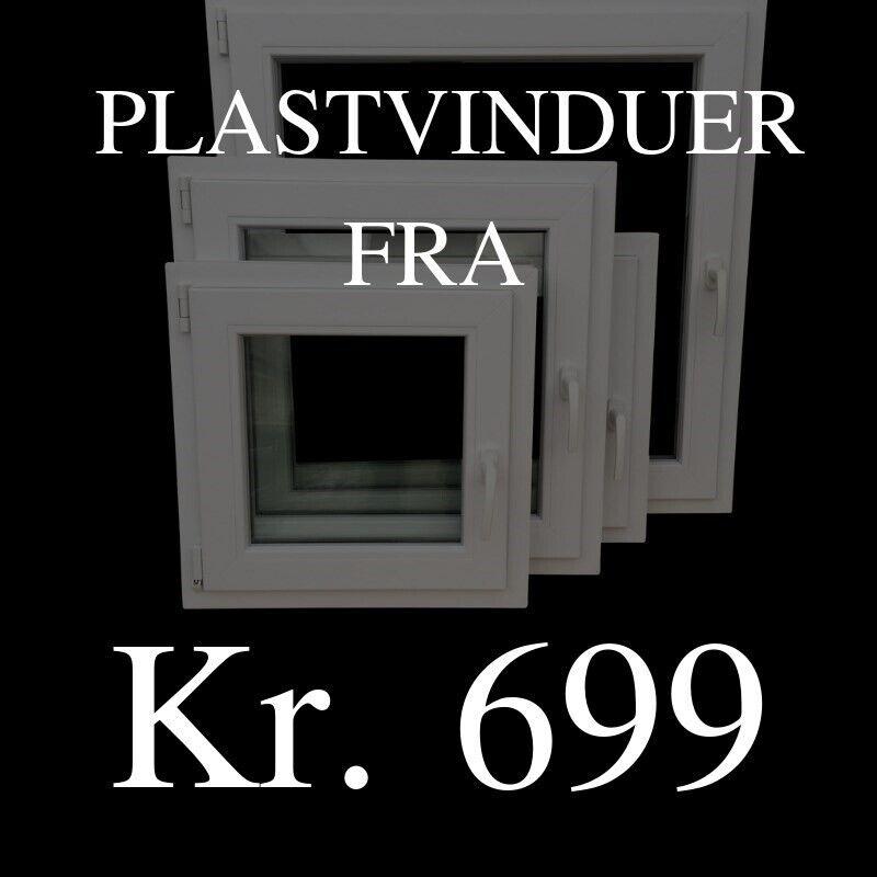Facadedør, plast