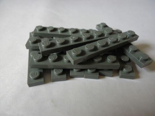 LEGO PART 3666 DARK BLUISH GREY 1 x 6 PLATES x 12