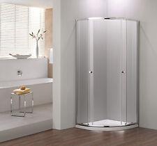 900x900 Quadrant+ Shower Enclosure Silver
