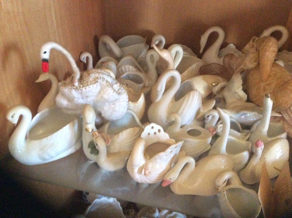 Porcelæn, Porcelæns svaner