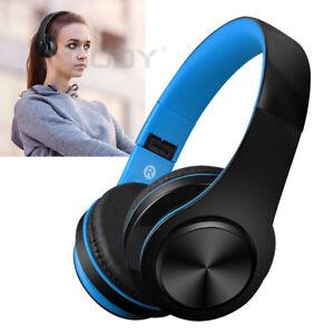 Kopfhoerer-On-Ear-Stereo-Bluetooth-Kopfhrer-Kabellos-Faltbare-Headset-Mikrofon