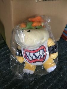 Details About Bowser Jr Plush Super Mario All Star Rare Japan Figure Mp5 Mario Party 5 Sanei