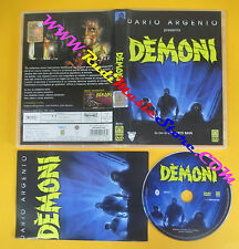DVD film DARIO ARGENTO presenta DEMONI Lamberto Bava MEDUSA no vhs (D7)