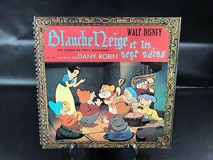 Details Sur Vinyle 33 Tours Blanche Neige Et Les Sept Nains Walt Disney Livre Spirale 1962