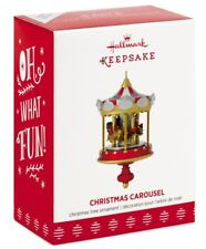 2017 Hallmark Keepsake Ornament Christmas Carousel 1st in Series