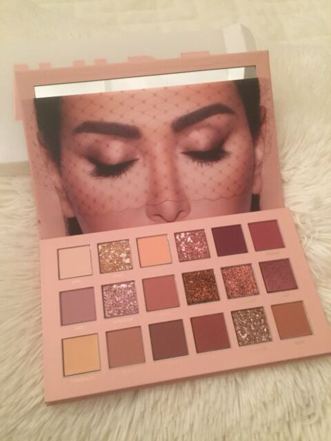 Huda Beauty THE NEW NUDE EYESHADOW PALETTE w/receipt Authentic NEW Read