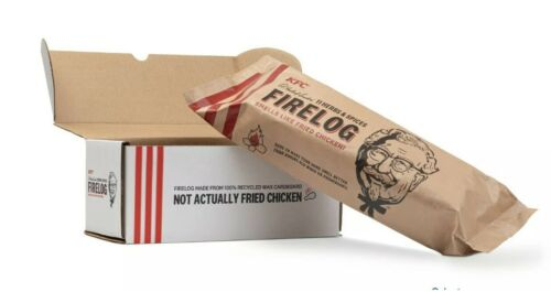 KFC Fire Log 11 Herbs and Spices IN HAND