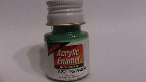 Pactra-Paint-A32-Marine-Green-Acrylic-Enamel-Water-WashUp-net-10ml-Bottle