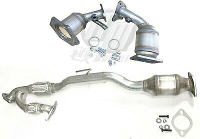 OE Style Catalytic Converter Flex Exhaust Y-Pipe for Nissan Murano 3.5L 03-07