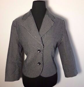 3c3c8b152d4 Image is loading Josephine-Chaus-Womens-Blazer-Jacket-Size-10-Black-