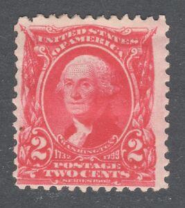 Details about U S  STAMP #301 2c WASHINGTON DEFINITIVE 1902 UNUSED