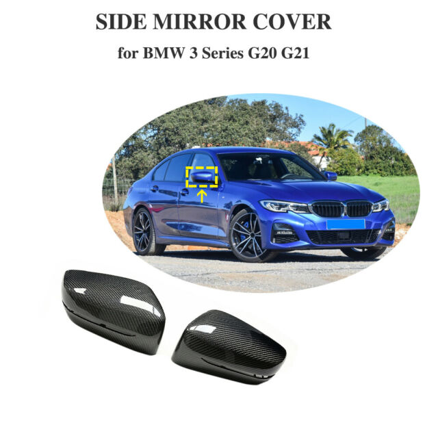 for bmw 3 series g20 g21 2pcs side mirror cover replace