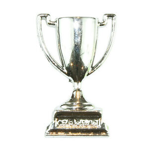 * a granel Plata Trofeo Medalla Vestido para arriba Novedad Craft Botones Sport Hobby Coser Nuevo
