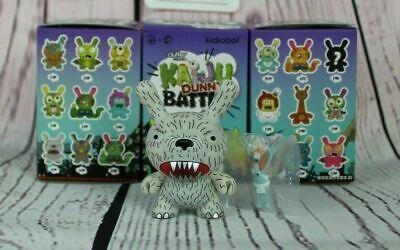 Kidrobot KAIJU DUNNY BATTLE Mini Series KESAGAKE BEAR Vinyl Figure Jon Rampage