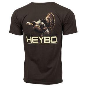 4cc9eb0f8 Image is loading Heybo-Turkey-SS-Chocolate-T-Shirt-CHOOSE-YOUR-