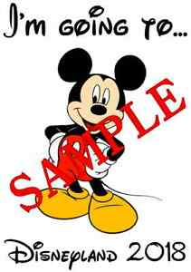 PERSONALISED MINNIE MOUSE A5 TSHIRT TRANSFER A5 MINNIE MOUSE 4 DESIGNS A5