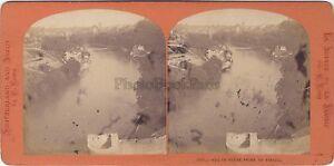 Suisse Bern Prise Del Viaduc Vintage Stereo Albumina Ca 1870