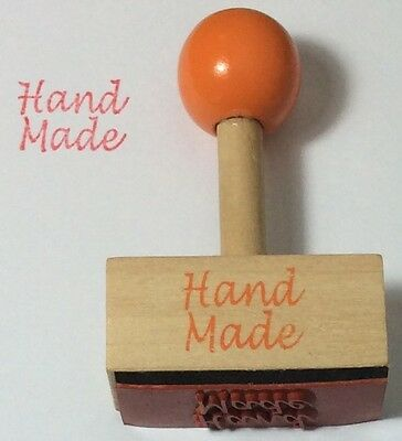 Hand Made Wooden Stamp - Party Gift Craft DIY Wedding Hobby Card